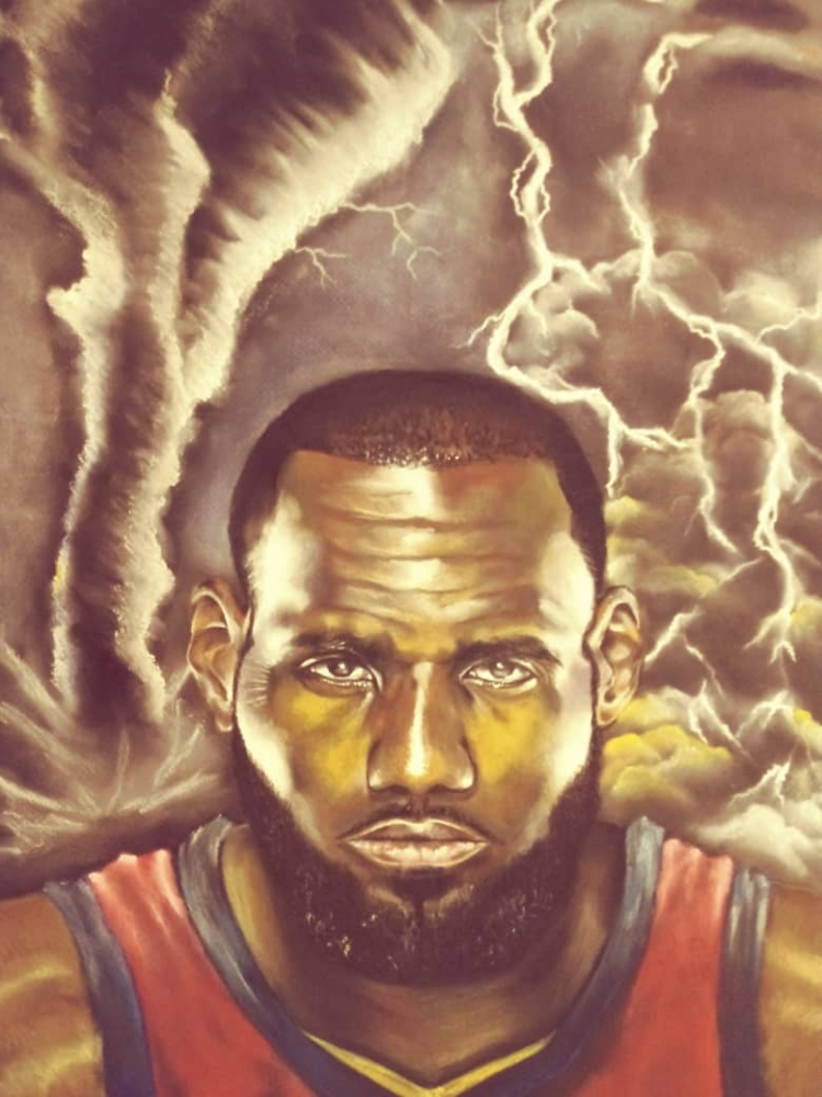 LeBron James by Asal